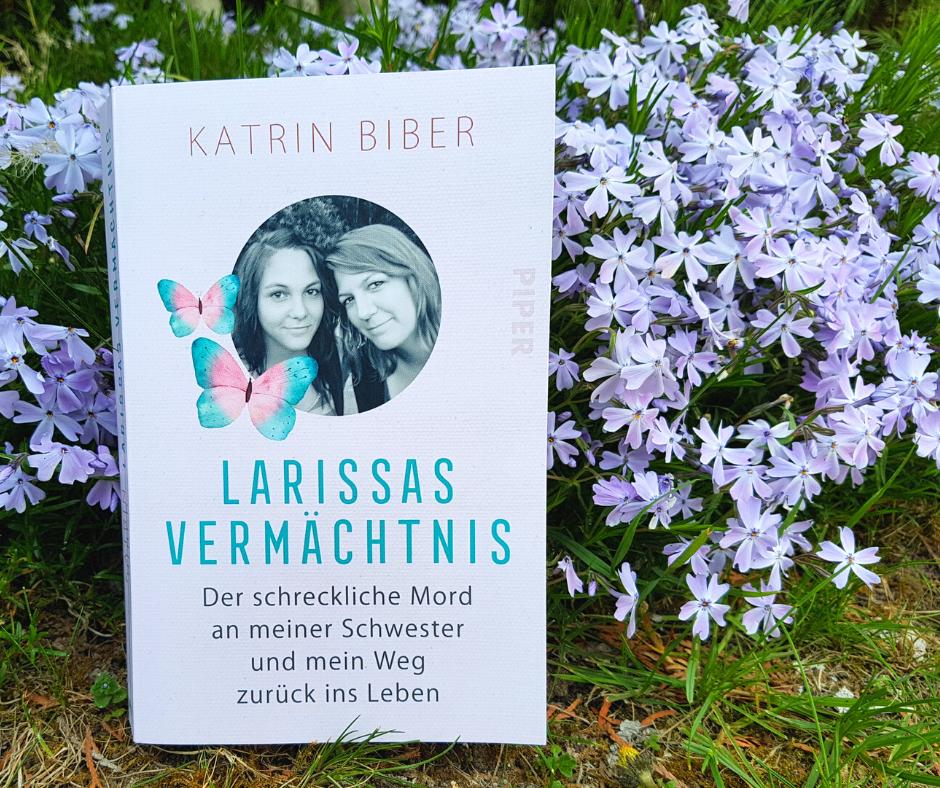 Larissas Vermächtnis - die Geschichte zu SeelenSport. Abgebildetes Buch